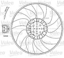 VALEO Radiator Cooling Fan 380 mm Fits OPEL Signum Vectra VAUXHALL 2003-