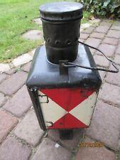 Garagenfund Alte  Zugschlußlaterne  Petroleumlampe  Zustand gebraucht