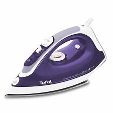 TEFAL MAESTRO FV3764 2200W STAINLESS STEEL SOLEPLATE HIGH POWR STEAM IRON PURPLE