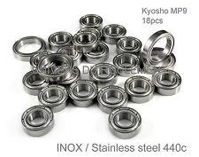 ROULEMENT A BILLES 8x16x5 5x11x4 INOX (18pcs KYOSHO MP9 PACK TRANSMISSION RC 1/8