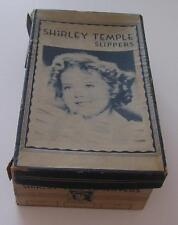 SHIRLEY TEMPLE 1930'S AUTHENTIC RESTFUL FOOTWEAR SLIPPER BOX