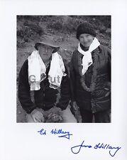 Edmund Hillary - Historic Mount Everest Climber - Autographed 8x10 Photograph