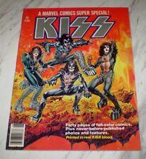 Marvel Comics Super Special #1 NM/MT 9.8 White 1977 Kiss cover, Spider-man app.
