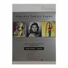 Hahnemuhle Fine Art Inkjet Peper, Sample Pack Matt smooth photo paper