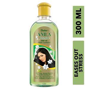 Dabur AMLA 300ml 10.14oz JASMINE HAIR OiL Ayurvedic SILKY STRONG HEALTHY