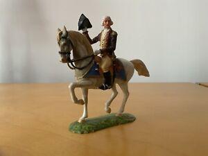 Elastolin George Washington on Horseback, Plastic