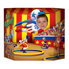3 Ring CIRCUS Cannon Act  PHOTO PROP Birthday Party Decoration