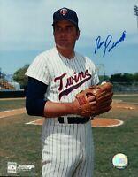 Ron Perranoski Signed 8X10 Photo Autograph Twins Posing Glove Right Auto w/COA