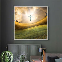 1set DIY 5D Diamond Painting full drill wild holy cross Embroidered Cross.SP