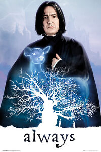 Harry Potter Snape Always Wizarding World Maxi Poster Print 61x91.5cm   24x36 in