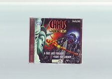 CHAOS CONTROL - 1995 SHOOTER PC GAME - FAST POST - JC EDITION WITH MANUAL