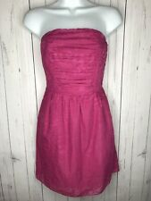 Express Women's Dress Pink Strapless Size XS