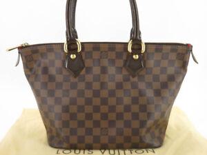 LOUIS VUITTON N51183 DAMIER SALEYA PM TOTE BAG HAND BAG
