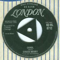 "Chuck Berry – Carol Vinyl 7"" Single HL8712 VG+"