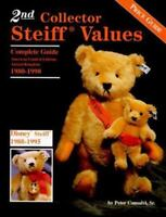 2nd Collector Steiff Values Book 1980 to 1990 Limited Editions Replicas Disney