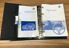 VW VOLKSWAGEN PASSAT B6 OWNERS MANUAL HANDBOOK WALLET 2005-2010 PACK