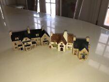 Philip Laureston England - Lot of 3 Miniature Buildings