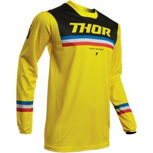 Thor S9 Pulse Pinner Jersey for Motocross Dirt Bike Offroad Riding - Adult sizes