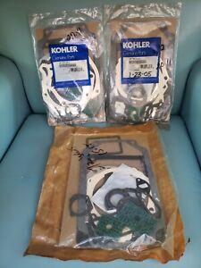 Lit of 2 Kohler Genuine Parts gasket sets 45-755-04S + extra package
