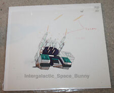 Original Japan Transformers Anime Cel Animation Art Sixshot Tank Mode
