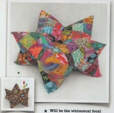 PATTERN - Harlequin Star Pillow - fun whimsical cushion PATTERN