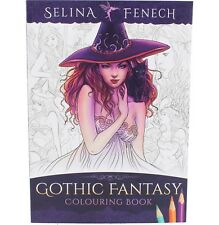 STUNNING 'SELINA FENECH' ADULT COLOURING ~ GOTHIC FANTASY ~ ART BOOK