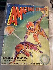 Amazing Stories August 1931 Pulp Magazine Science Fiction