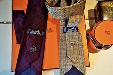 Hermès 100 % Seide 2 Krawatten