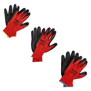 10 Pairs Nitrile Lightweight DIY Gardening Work Protective Safety Dry Wet Gloves