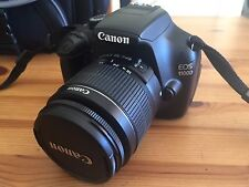 Canon EOS 1100d With 18-55mm Lens Kit Excellent Condition