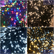 Snowtime Cluster LED Christmas Lights 480 960 2000 Multi Function Timer IP44