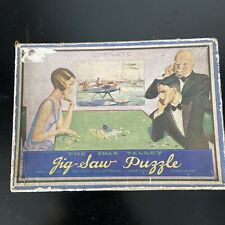 Original Vintage Wooden Jigsaw Puzzle by Chad Valley Harborne England