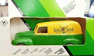 ERTL John Deere 1950 Chevy Panel Delivery Truck Die Cast Coin Bank