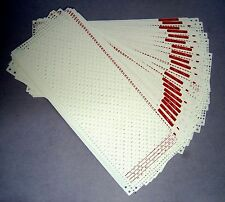 Pre-punched card set SK-280 Singer/Studio/Silverreed punch card knitting machine