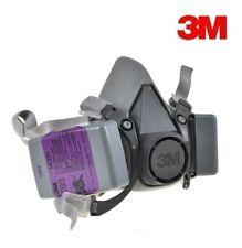 3M 6200 Half Facepiece Respirator W/ 2 Each 7093 P1OO Particulat Filter, MEDIUM