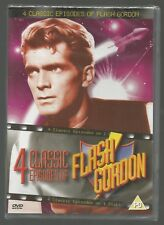 FLASH GORDON - 4 CLASSIC EPISODES - sealed/new - UK DVD - Steve Holland