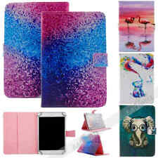"""Universal Case 7""""inch Tablet Accessories Folio Stand Flip Leather Case Cover NEW"""