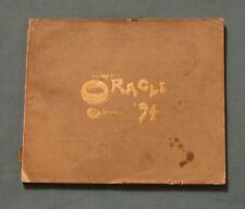 1894 LANSING HIGH SCHOOL ANNUAL YEARBOOK LANSING MICHIGAN * Oracle * 3rd Issue