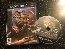 PLAYSTATION 2 PS2 GAME MONSTER HUNTER +BOX UK/EU Oz PAL FORMAT By CAPCOM