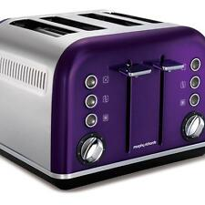 NEW Morphy Richards Accents 4 Slice Toaster Plum 242022