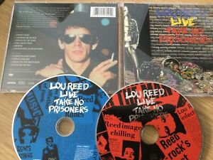 Cd double album- Lou Reed – Lou Reed Live - Take No Prisoners ( Remastered)