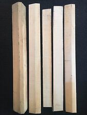 [1st Grade, Old Growth] Adirondack Red Spruce Guitar Bracewood Luthier Tonewood