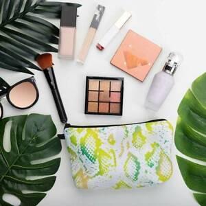 Women Makeup Cosmetic Bag Zip Pouch Waterproof Toiletry Wash Organizer Pack HD