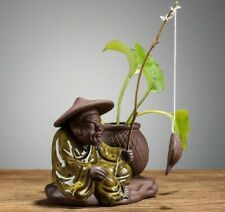 Fisherman and The Plant Baby - Decorative Pot for Plant Parents & Cactus Lovers