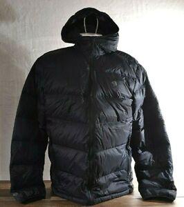 Mountain Hardwear Mt Mount Eyak Down Hoody Jacket XL 600 Fill Packable Black NWT