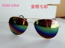 New Unisex Vintage Retro Men Woman Glasses Aviator Mirror Lens Sunglasses