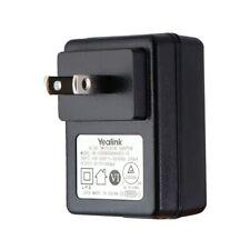 Yealink AC/DC Single USB Switching Adapter/Charger Black (0H-1006B0500500UU-UL)
