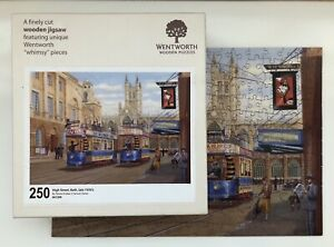 """Wentworth Wooden Jigsaw Puzzle - """"High St Bath 1930's - 250 Pieces Complete"""