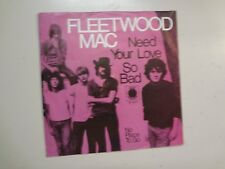 "FLEETWOOD MAC:(w/Peter Green)Need Your Love So Bad-Germany 7""69 Blue Horizon PSL"
