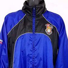 Challenger Sports Windbreaker Jacket British Soccer Teamwear Mens Size 2XL